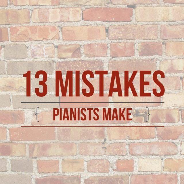 13 Mistakes