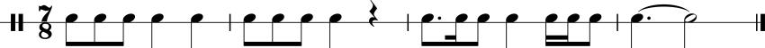 Rhythm Sample 2